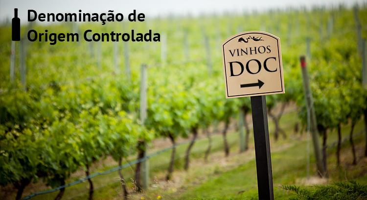 DOC - Denominação de Origem Controlada para vinhos