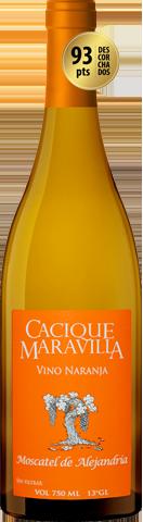Cacique Maravilla Vino Naranja