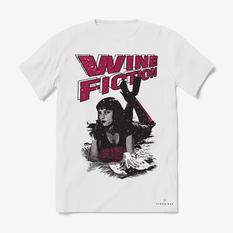 Camiseta Wine Fiction