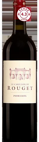 Le Carillon de Rouget  Pomerol 2015