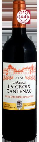 Château La Croix Cantenac  St Émilion Grand Cru 2018