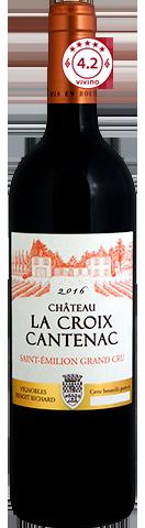 Château La Croix Cantenac  St Émilion Grand Cru 2016 (Magnum)
