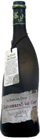 La Fiole du Pape Châteauneuf du Pape