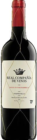 Real Compañía de Vinos Tempranillo Aged 2018